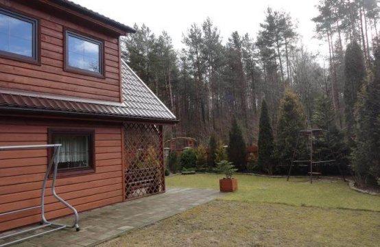 Drewniany domek pod Wejherowem