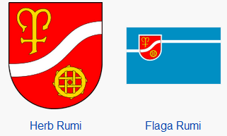Rumia herb i flaga