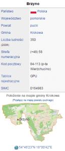 działka budowlana Nadole-Brzyno